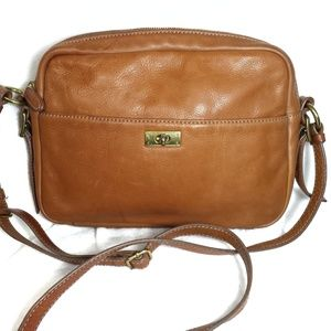J. Crew leather shoulder bag